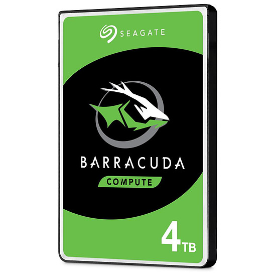 Disque dur interne Seagate BarraCuda Mobile - 4 To - 128 Mo
