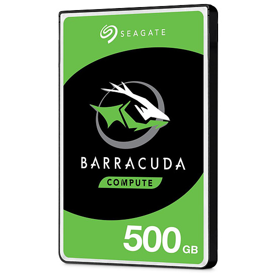 Disque dur interne Seagate BarraCuda Mobile - 500 Go - 128 Mo