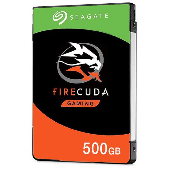 Disque dur interne Seagate FireCuda Mobile - 500 Go - 8 Go Nand - 128 Mo