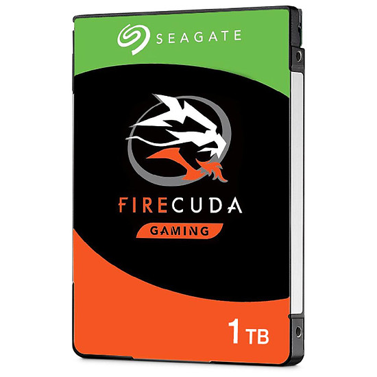 Disque dur interne Seagate FireCuda Mobile - 1 To - 8 Go Nand - 128 Mo