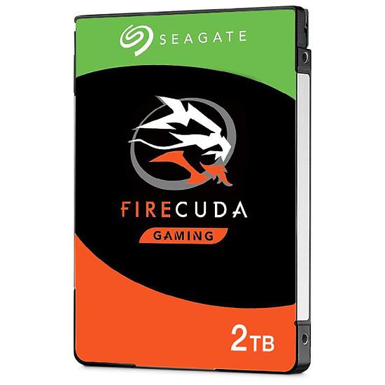 Disque dur interne Seagate FireCuda Mobile - 2 To - 8 Go Nand - 128 Mo