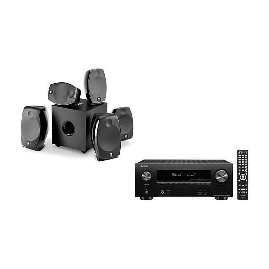 Ensemble Home-Cinéma Denon AVR-X2600H + Focal Sib Evo 5.1.2 Dolby Atmos