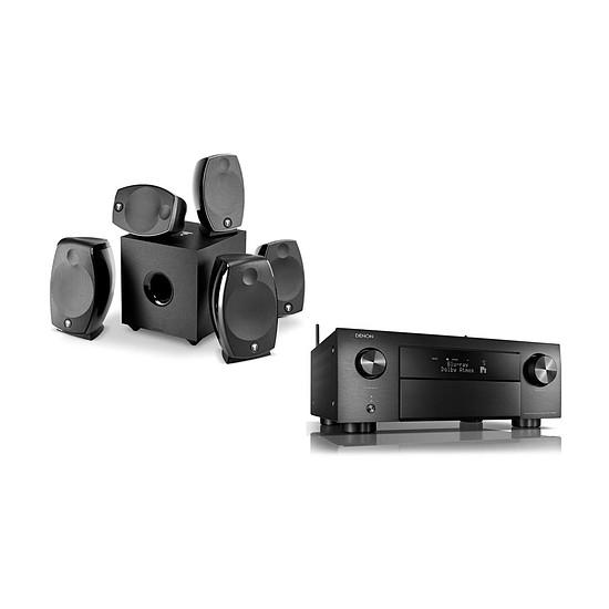 Ensemble Home-Cinéma Denon AVR-X4500H Noir + Focal Sib Evo 5.1.2 Dolby Atmos Noir