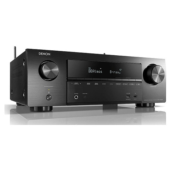 Ensemble Home-Cinéma Denon AVR-X1600H + Focal Sib Evo 5.1.2 Dolby Atmos Noir - Autre vue