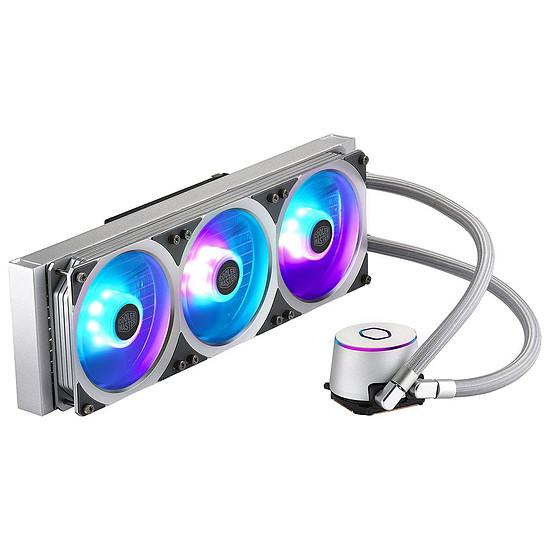Refroidissement processeur Cooler Master MasterLiquid ML360P Silver Edition - Autre vue