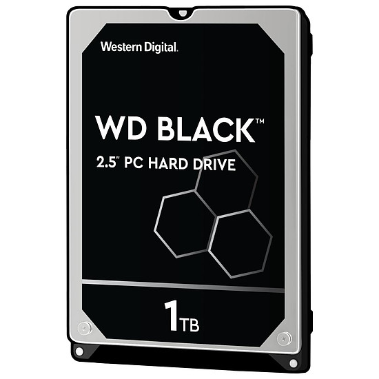 Disque dur interne Western Digital WD Black Mobile - 1 To - 64 Mo