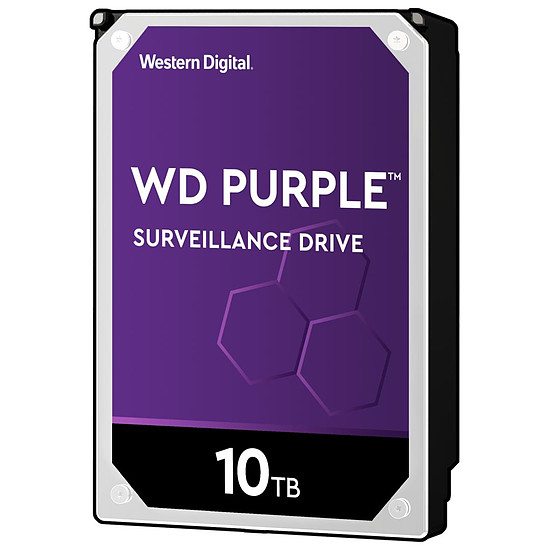 Disque dur interne Western Digital WD Purple - 10 To - 256 Mo