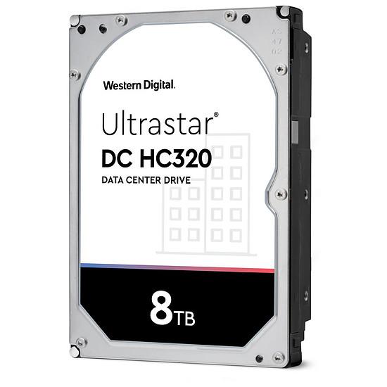 Disque dur interne Western Digital WD Ultrastar DC HC320 - 8 To - 256 Mo