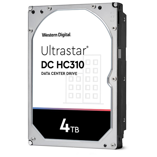 Disque dur interne Western Digital WD Ultrastar DC HC310 - 4 To - 256 Mo