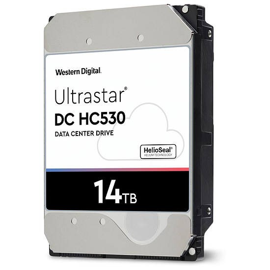 Disque dur interne Western Digital WD Ultrastar DC HC530 - 14 To - 512 Mo