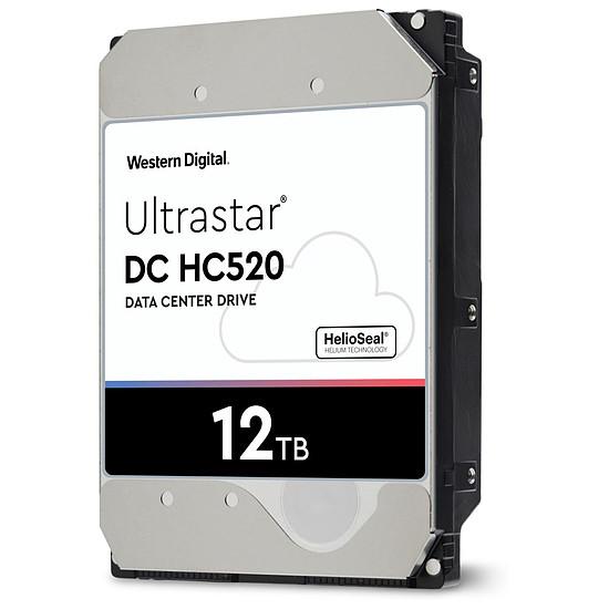Disque dur interne Western Digital WD Ultrastar DC HC520 - 12 To - 256 Mo