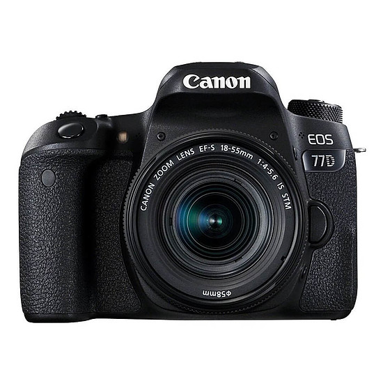 Appareil photo Reflex Canon EOS 77D + 18-55 IS STM + Kingston SDHC 32 Go - Autre vue