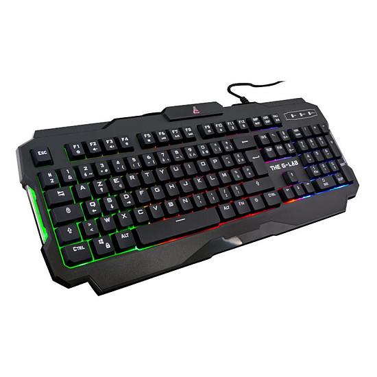 Pack clavier-souris Gaming The G-Lab Combo Argon E - Autre vue