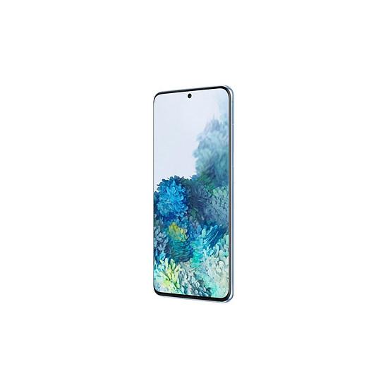 Smartphone et téléphone mobile Samsung Galaxy S20 G981 5G (bleu) - 128 Go - 12 Go - Autre vue