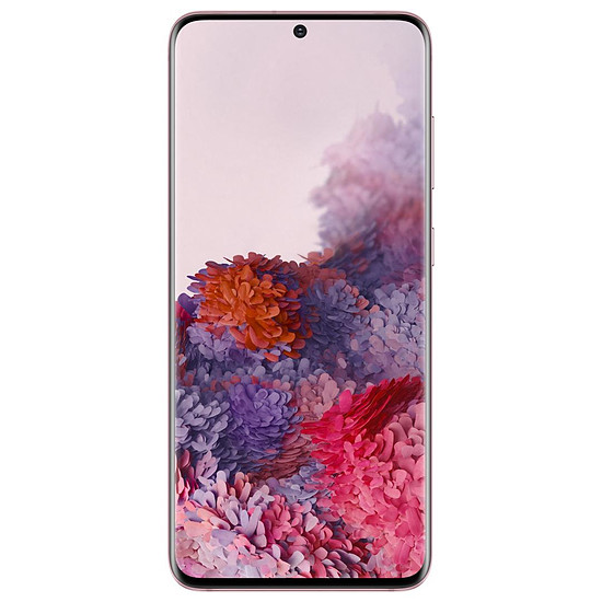 Smartphone et téléphone mobile Samsung Galaxy S20 G981 5G (rose) - 128 Go - 12 Go