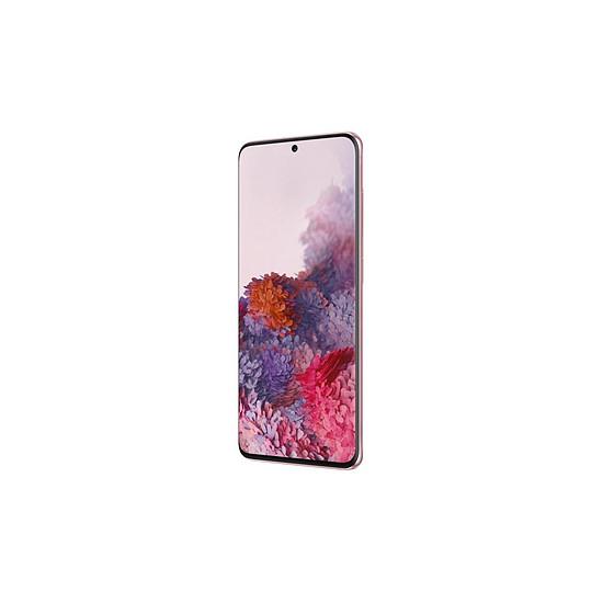 Smartphone et téléphone mobile Samsung Galaxy S20 G981 5G (rose) - 128 Go - 12 Go - Autre vue
