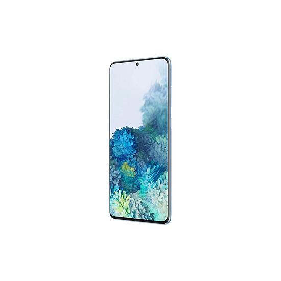 Smartphone et téléphone mobile Samsung Galaxy S20+ G986 5G (bleu) - 128 Go - 12 Go - Autre vue