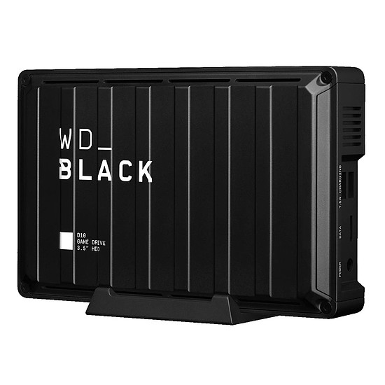 Disque dur externe Western Digital WD_Black D10 Game Drive - 8 To