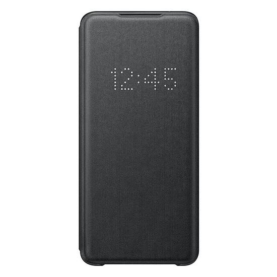 Coque et housse Samsung LED View Cover Noir Galaxy S20 Ultra