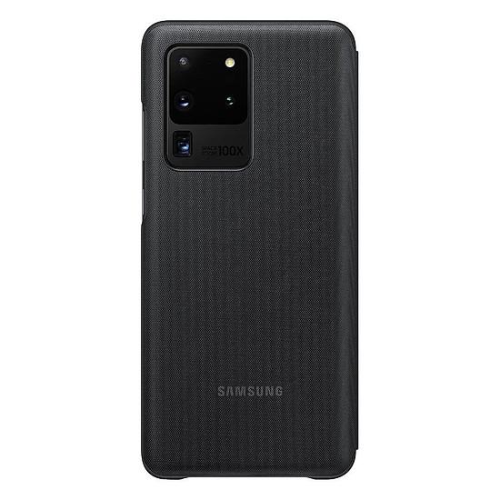 Coque et housse Samsung LED View Cover Noir Galaxy S20 Ultra - Autre vue