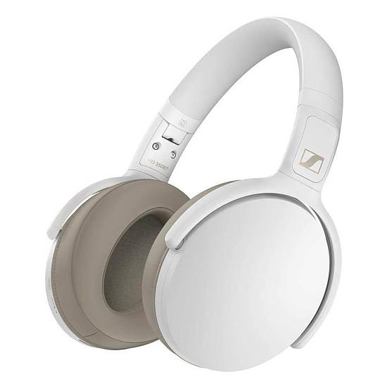 Casque Audio Sennheiser HD 350BT Blanc - Casque sans fil