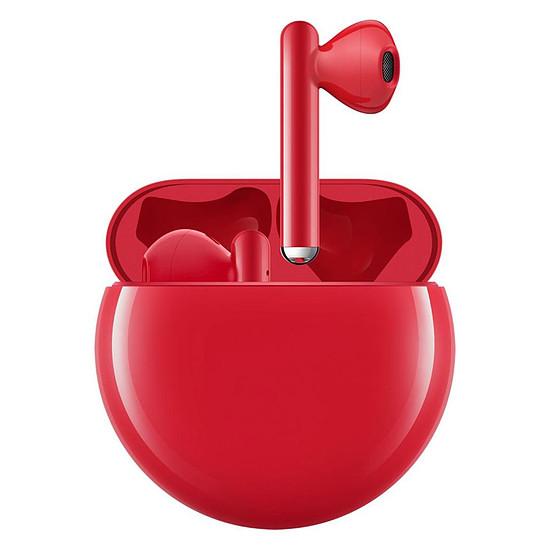 Casque Audio Huawei FreeBuds 3 Rouge- Écouteurs sans fil