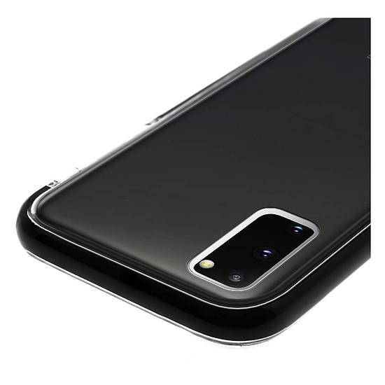 Coque et housse Akashi Coque (transparent) avec bordures noires renforcées - Samsung Galaxy S20+ - Autre vue
