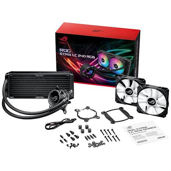 Refroidissement processeur Asus ROG Strix LC240 RGB - Autre vue