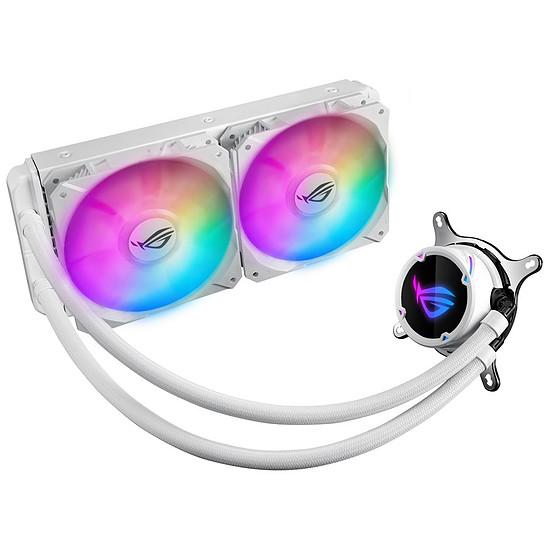 Refroidissement processeur Asus ROG Strix LC240 RGB White Edition
