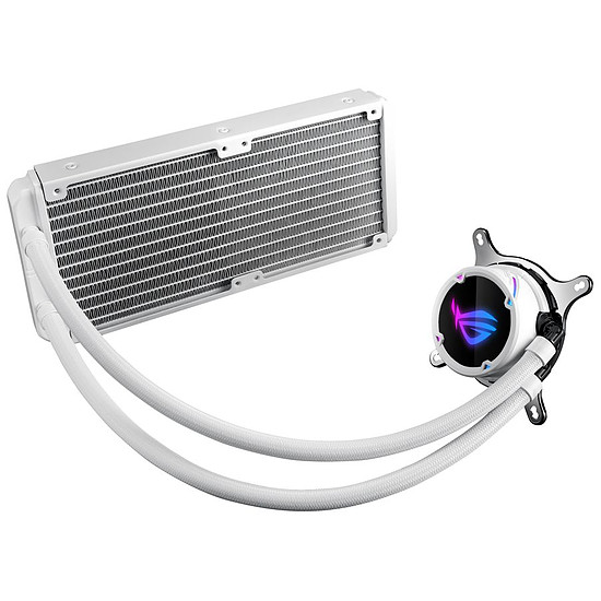 Refroidissement processeur Asus ROG Strix LC240 RGB White Edition - Autre vue