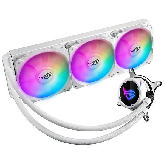 Refroidissement processeur Asus ROG Strix LC360 RGB White Edition