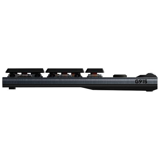 Clavier PC Logitech G915 Lightspeed Carbone - GL Tactile - Autre vue