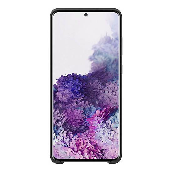 Coque et housse Samsung Coque Silicone Noir Galaxy S20+ - Autre vue