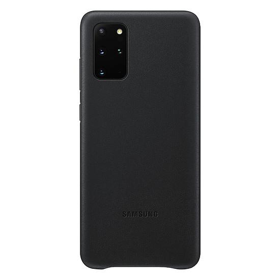 Coque et housse Samsung Coque Cuir Noir Samsung Galaxy S20+