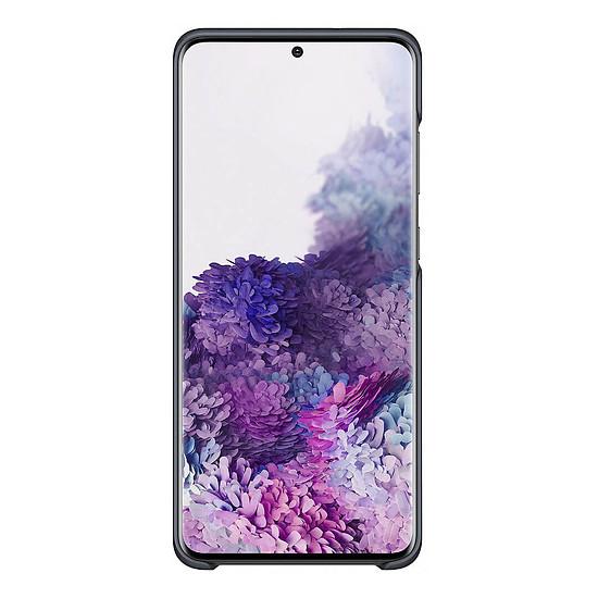 Coque et housse Samsung LED Cover Noir Galaxy S20+ - Autre vue