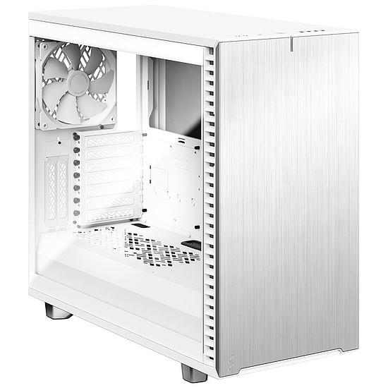 Boîtier PC Fractal Design Define 7 Clear TG - Blanc