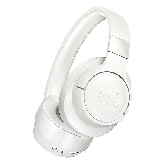 Casque Audio JBL TUNE 700BT Blanc - Casque sans fil