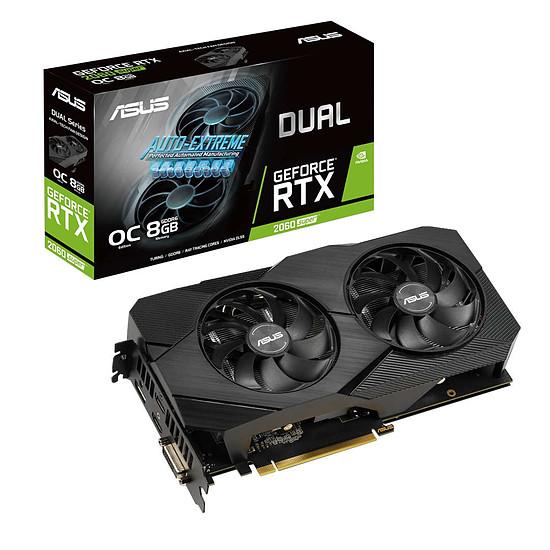 Carte graphique Asus GeForce RTX 2060 SUPER Dual OC EVO v2