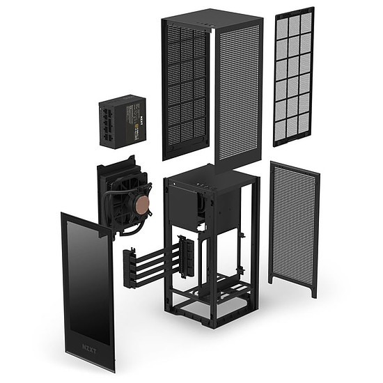 Boîtier PC NZXT H1 - Noir - Autre vue