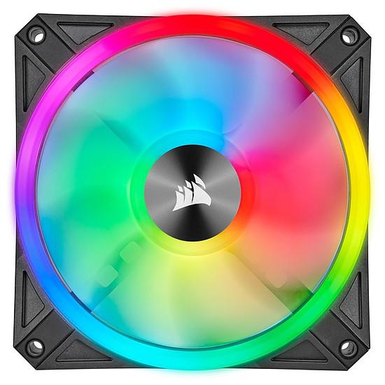 Ventilateur Boîtier Corsair QL120 RGB - Pack de 3 + Node Core - Autre vue