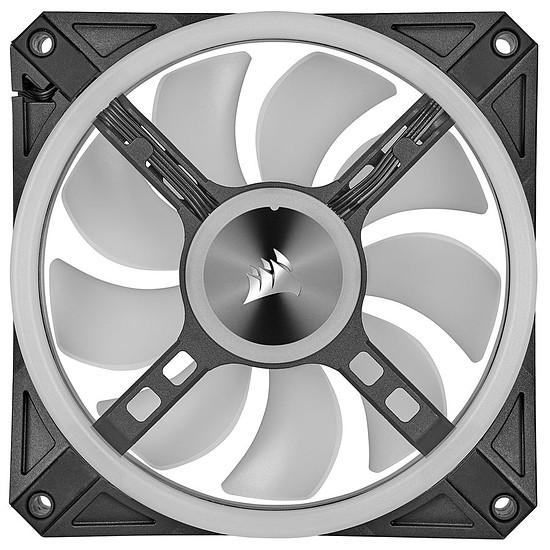 Ventilateur Boîtier Corsair QL140 RGB - Noir - Autre vue