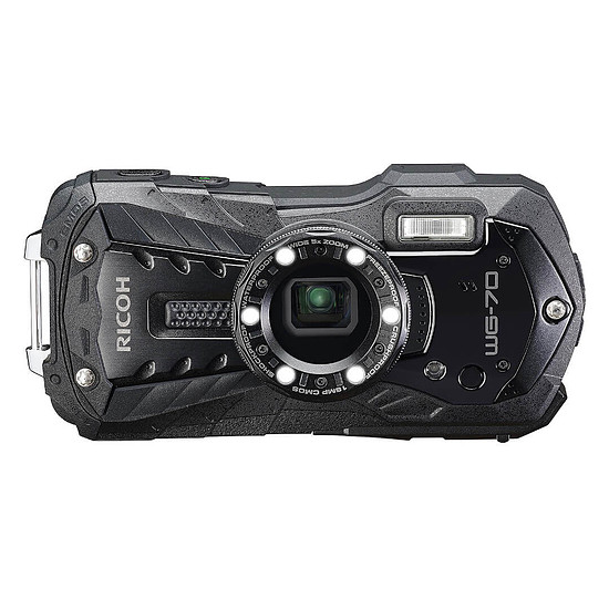 Appareil photo compact ou bridge Ricoh WG-70 Noir