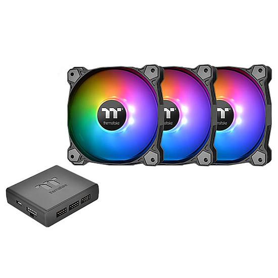 Ventilateur Boîtier Thermaltake Pure Plus 12 LED ARGB - Pack de 3