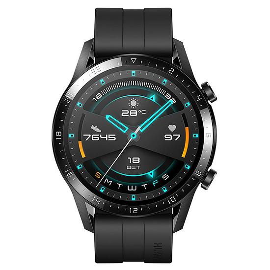 Montre connectée Huawei Watch GT 2 Noir - GPS - 46 mm