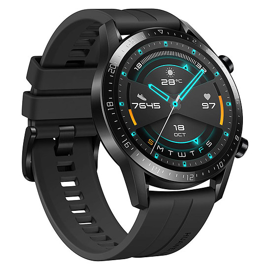 Montre connectée Huawei Watch GT 2 Noir - GPS - 46 mm - Autre vue
