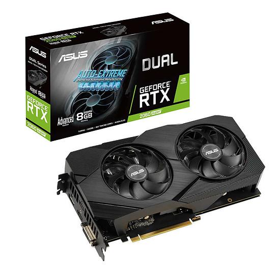 Carte graphique Asus GeForce RTX 2060 SUPER Dual A8G EVO v2