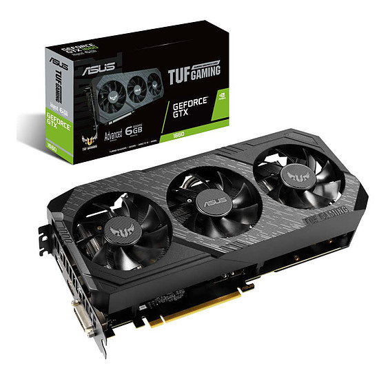 Carte graphique Asus TUF Gaming X3 GeForce GTX 1660 A6G