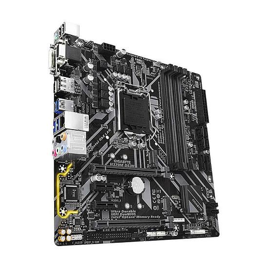 Carte mère Gigabyte H370M DS3H - Autre vue