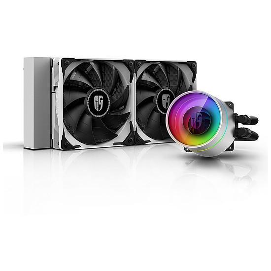 Refroidissement processeur Deepcool Gamer Storm Castle 240EX ARGB - Blanc