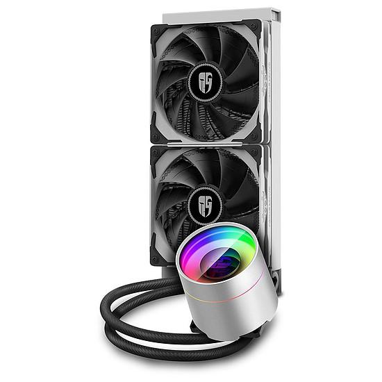 Refroidissement processeur Deepcool Gamer Storm Castle 240EX ARGB - Blanc - Autre vue